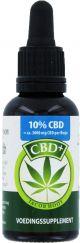 Jacob Hooy CBD + / huile de chanvre (10%) 10 ml
