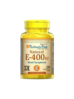 Puritan's Pride Vitamin E-400 iu 250 Softgels 463