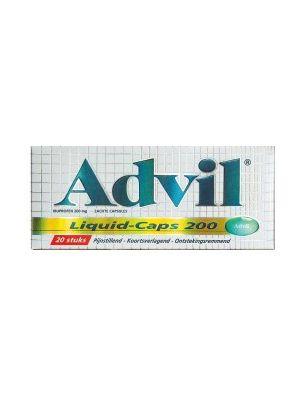 Advil 200 mg Spalt Liquid 20 Liquid-Caps