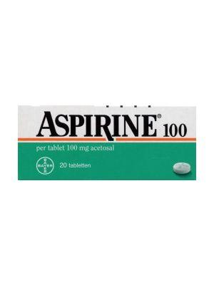 Aspirine 100 mg  20 Tabletten Bayer