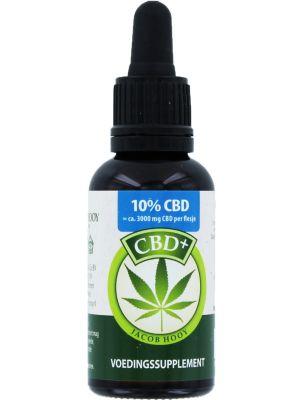 Jacob Hooy CBD + / huile de chanvre (10%) 30 ml
