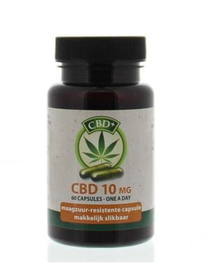 Jacob Hooy CBD+ cbd 10 mg 60 capsules