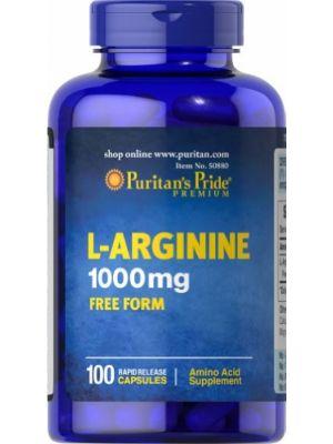 Puritan's Pride L-Arginine 1000 mg 100 Tabletten 50880