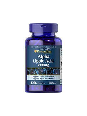 Puritan's Pride Alpha Lipoic acid 600 mg 120 Capsules 17967