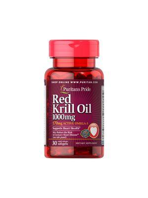 Puritan's Pride Krill Oil 1000 mg 30 Softgels 29546