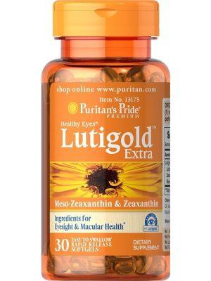 Puritan's Pride Lutein plus TM healthy eyes 30 Softgels 13175