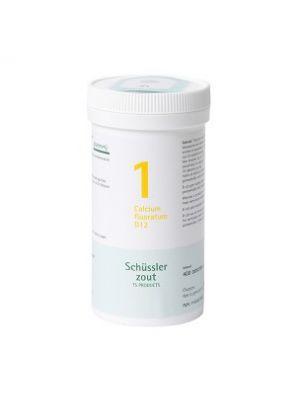 Sels de Schüssler nr 1 Calcium fluoratum D12 400 comprimés
