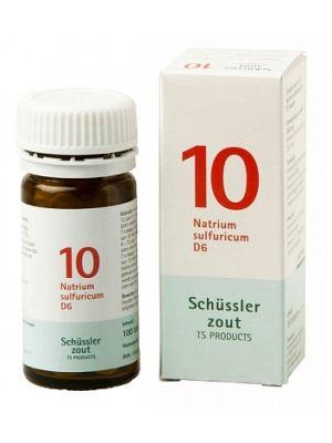 Sels de Schüssler nr 10 Natrium Sulfuricum D6 100 comprimés