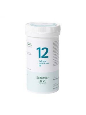 Sels de Schüssler nr 12 Calcium Sulfuricum D6 400 comprimés