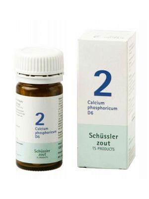 Sels de Schüssler nr 2 Calcium Phosphoricum D6 100 comprimés