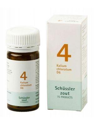 Sels de Schüssler nr 4 Kalium Chloratum D6 100 comprimés