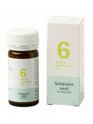Sels de Schüssler nr 6 Kalium Sulfuricum D6 100 comprimés
