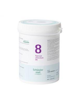 Sels de Schüssler nr 8 Natrium Chloratum D6 1000 comprimés