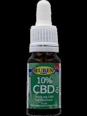 Seuren Nutrients CBD Olie (10%) Full spectrum | Hennepolie 10 ml