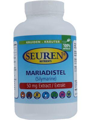 Seuren Nutrients Mariadistel 600 mg 200 Capsules