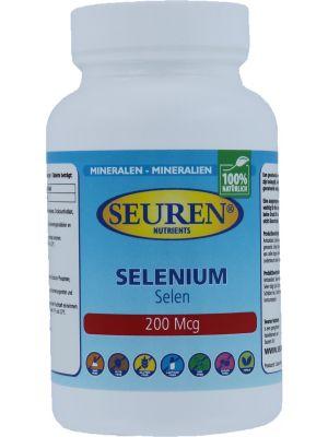 Seuren Nutrients Sélénium 200 mcg 200 Comprimés