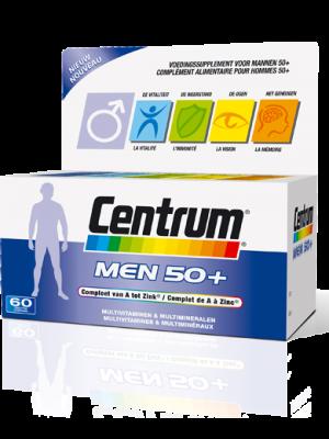 Centrum Men 50+ Compleet van A tot Zink 30 Tabletten