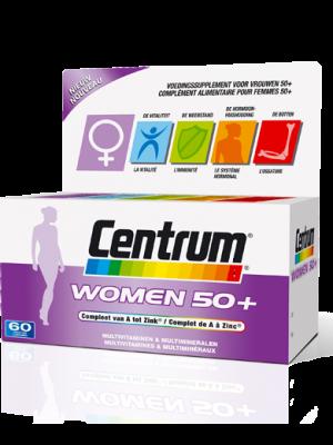 Centrum Women 50+ Compleet van A tot Zink 30 tabletten