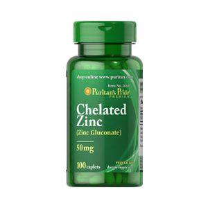 Puritan Pride Gluconate Zinc 50 mg 100 comprimés 2060
