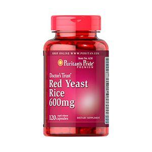 Puritan's Pride Red Yeast Rice 600 mg 120 Capsules 6210