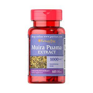 Puritan's Pride Muira puama 1000 mg 60 Tabletten 10170