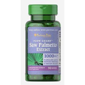 Puritan's Pride Saw Palmetto 1000 mg 90 Softgels 1594