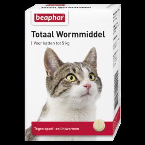 Beaphar Totaal Wormmiddel voor katten tot 5 kg