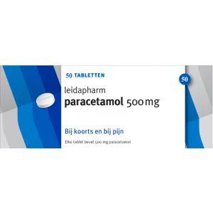 Paracetamol 500 mg 50 Tabletten Leidapharm®
