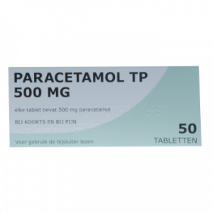 Paracetamol 500 mg TP 50 tabletten