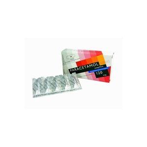 Paracetamol 120 mg 10 zetpillen Leidapharm