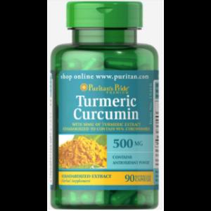Curcumin Purcane Curcuma 500 mg, 90 gélules 15418