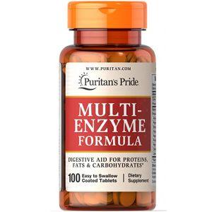 Puritan's Pride Multi Enzyme Formula 100 Tabletten 10332