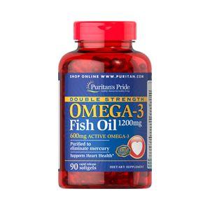 Puritan's Pride Omega 3 fish oil 1200 mg 90 Softgels 17131