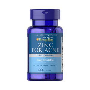 Puritan's Pride Zinc for acne 100 Tabletten 2580