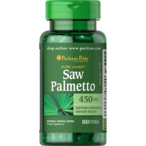 Puritan's Pride Saw Palmetto 450 mg 100 capsules 3531