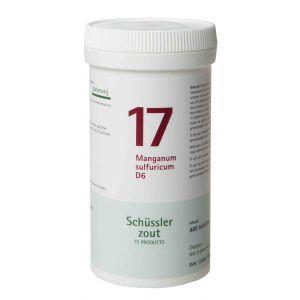 Sels de Schüssler nr 17 manganum sulfuricum 400 D6 comprimés