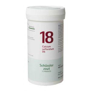 Sels de Schüssler nr 18 Calcium Sulfuratum D6 400  comprimés