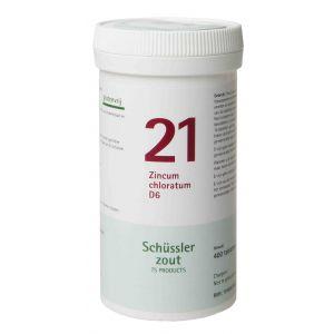 Sels de Schüssler nr 21 zincum chloratum 400 D6 comprimés