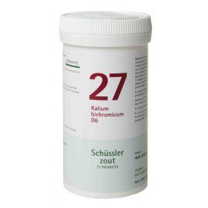 Sels de Schüssler nr 27 Kalium Bichromicum D6 400  comprimés
