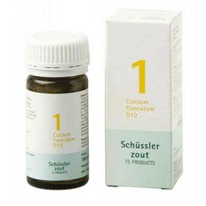 Sels de Schüssler  nr 1 Calcium fluoratum D12 100 comprimés