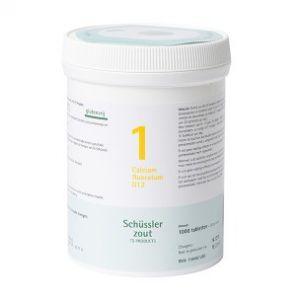 Sels de Schüssler nr 1 Calcium fluoratum D12 1000 comprimés
