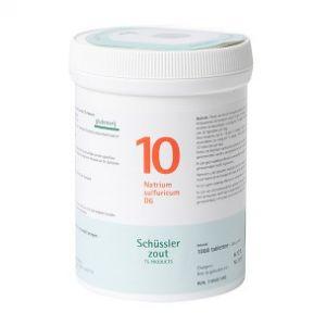Sels de Schüssler nr 10 Natrium Sulfuricum D6 1000 comprimés