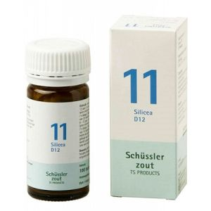 Sels de Schüssler nr 11 Silicea D12 100 comprimés