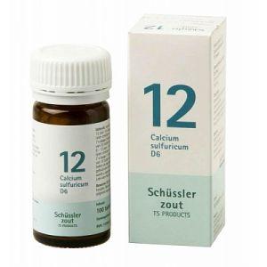 Sels de Schüssler nr 12 Calcium Sulfuricum D6 100 comprimés