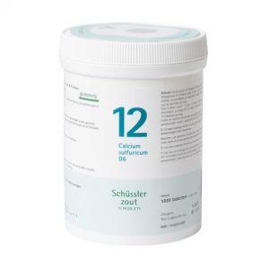 Sels de Schüssler nr 12 Calcium Sulfuricum D6 1000 comprimés