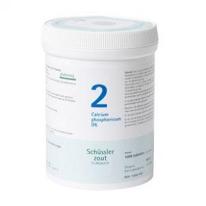 Sels de Schüssler nr 2 Calcium Phosphoricum D6 1000 comprimés