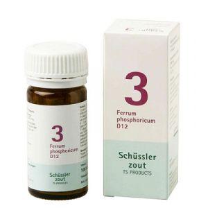 Sels de Schüssler nr 3 Ferrum Phosphoricum D12 100 comprimés