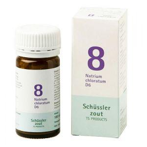 Sels de Schüssler nr 8 Natrium Chloratum D6 100 comprimés