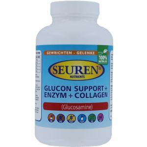 Seuren Nutrients Glucon support + Enzym + Collagen (Glucosamine) 200 Tabletten