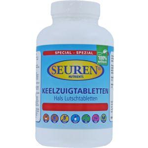 Seuren Nutrients keelzuig Tabletten 60 Tabletten